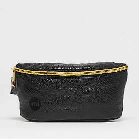 Mi-Pac Gold Slim Bum Bag tumbled black
