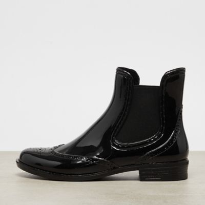 Buffalo Rubber Boot black