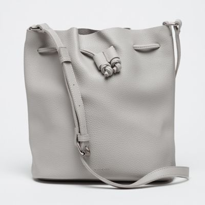 Liv Basic Bucket Bag light grey