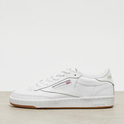Club C 85 white/light grey/gum
