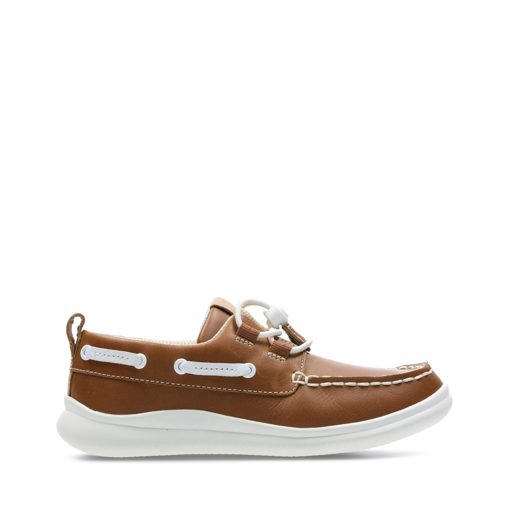 Clarks Cloud Swing - Tan Leather - Childrens 11.5
