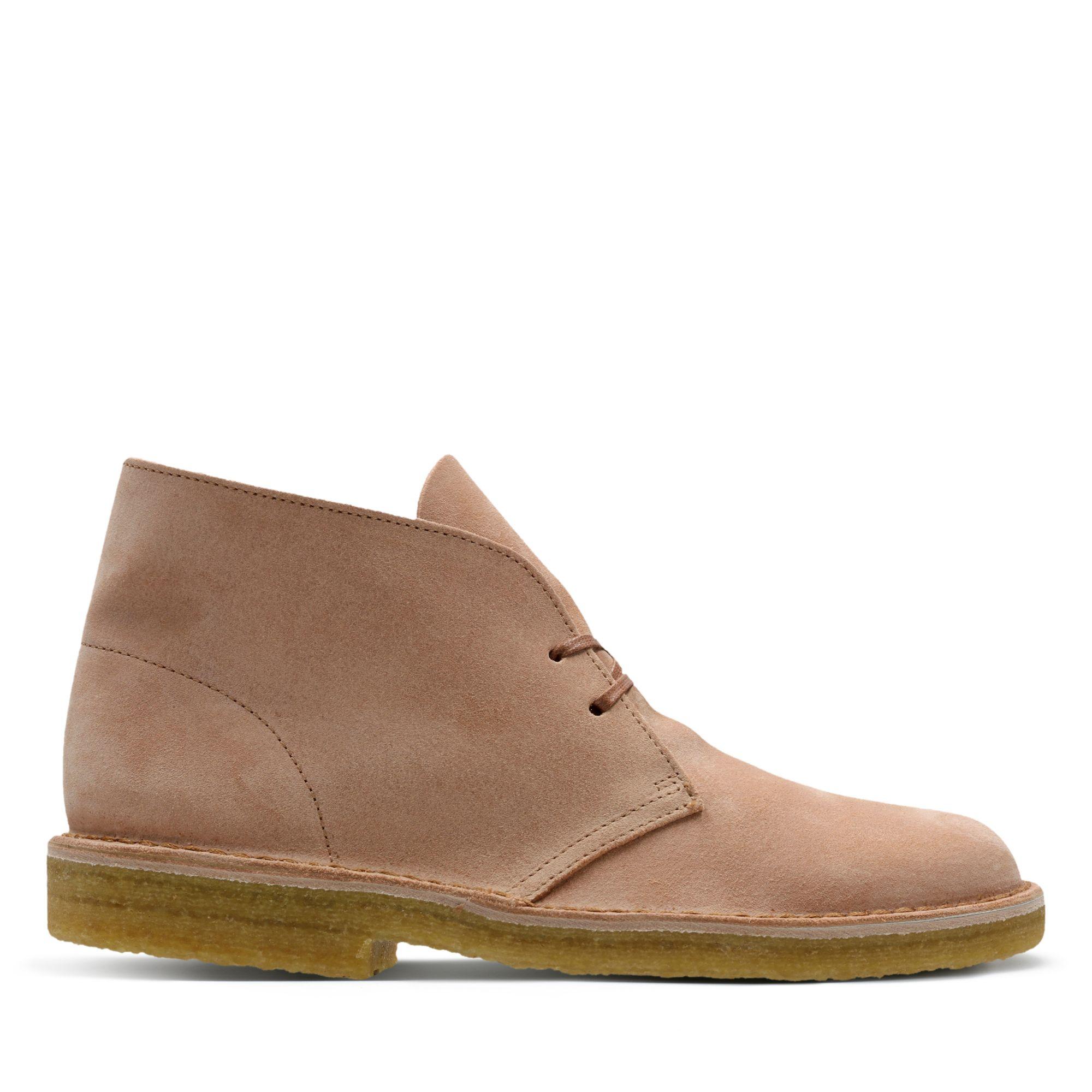 Clarks Desert Boot - Sandstone Suede - Mens 9.5