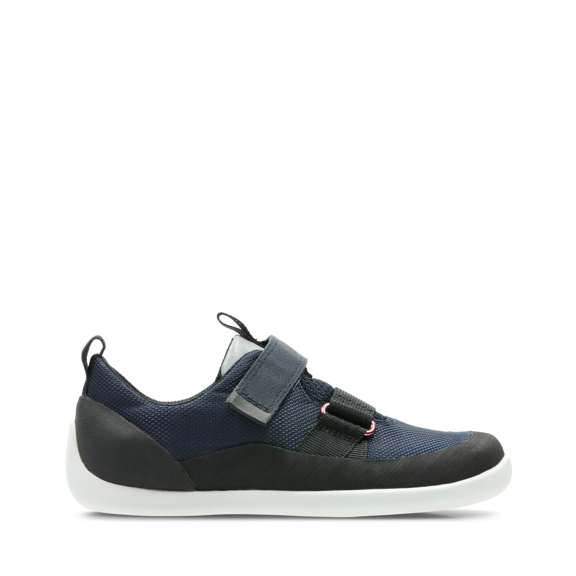 Clarks Play Pioneer - Navy Synthetic - Childrens 9