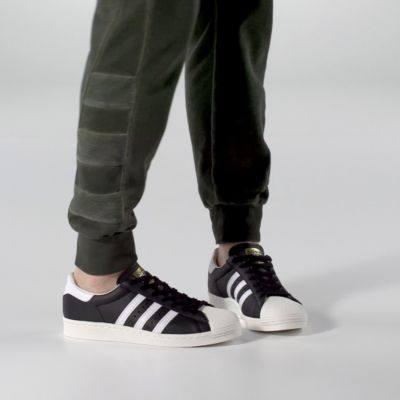 adidas Superstar Boost White Black