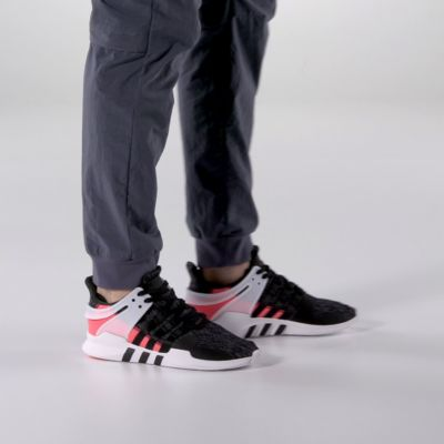 adidas EQT Support 93/17 Black Turbo Red