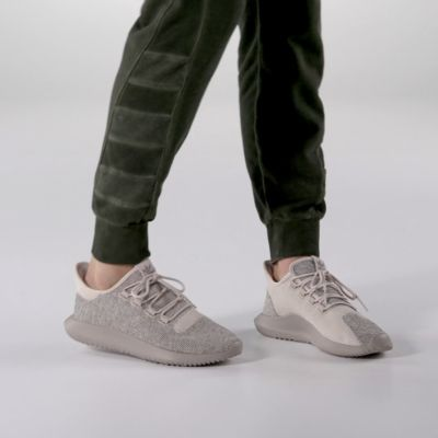 Adidas Tubular Shadow Knit Womens Sneakers Grey