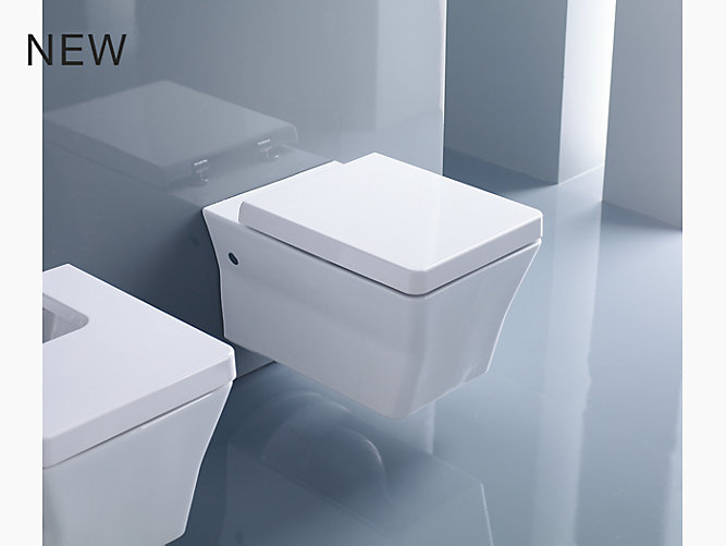 Reve Wall-hung toilet with Quiet-Close(TM) seat and cover | K-5053K ...