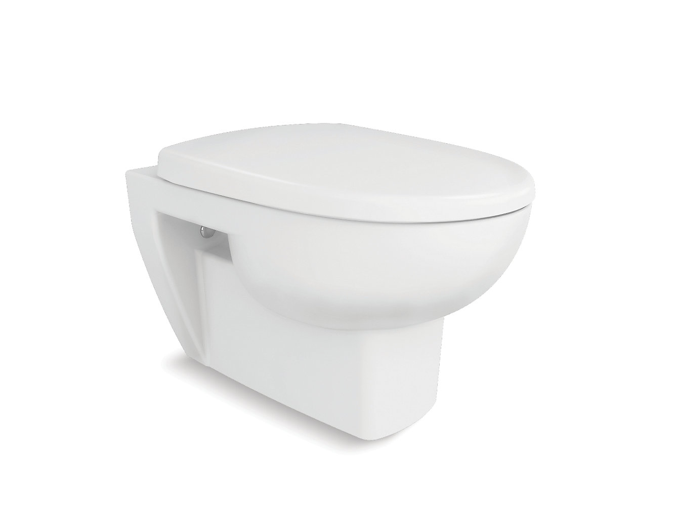Reach Wall Hung Toilet With Quiet CloseTM Seat And Cover