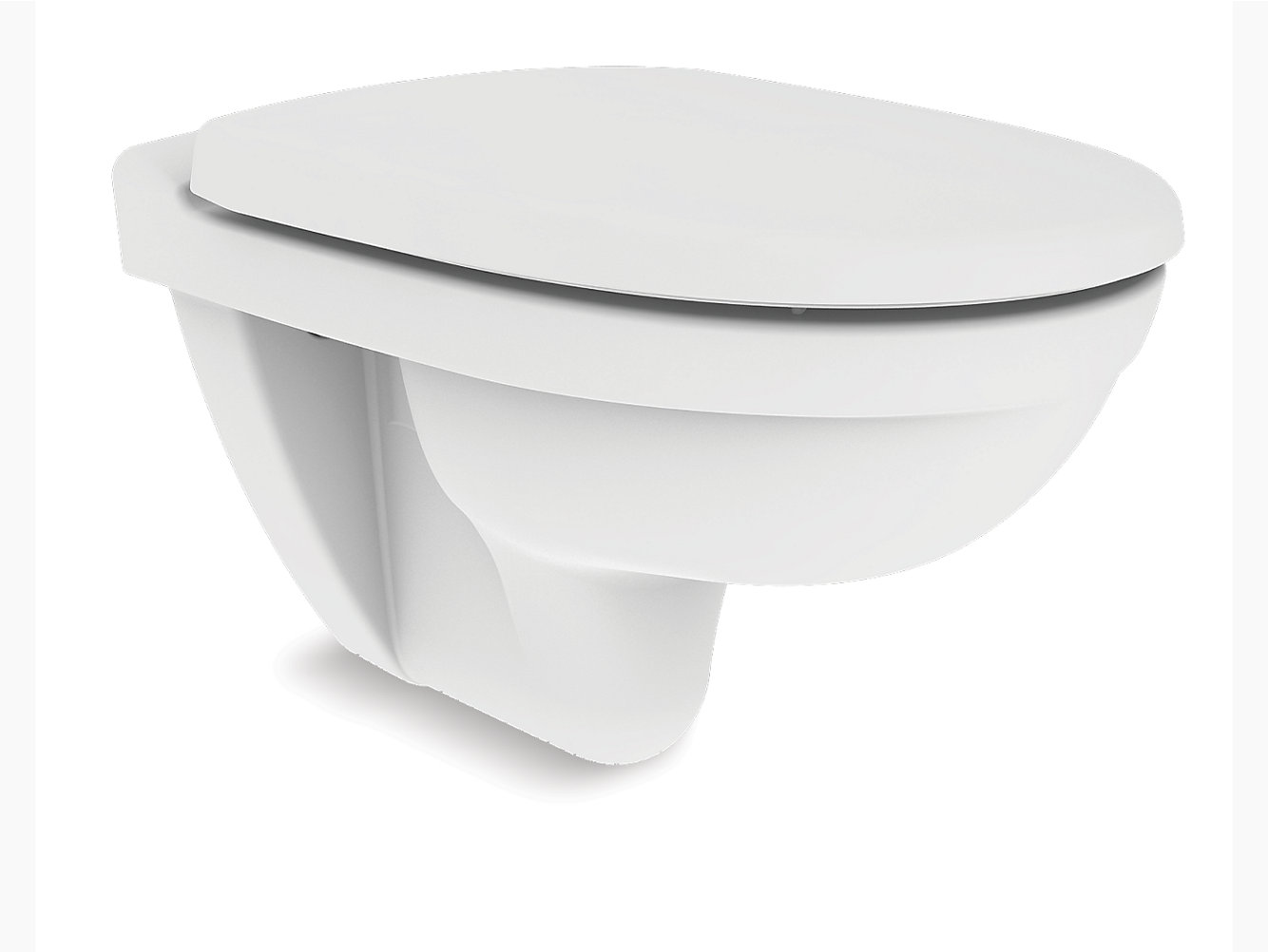 Odeon Wall Hung Toilet With Quiet CloseTM Seat And Cover