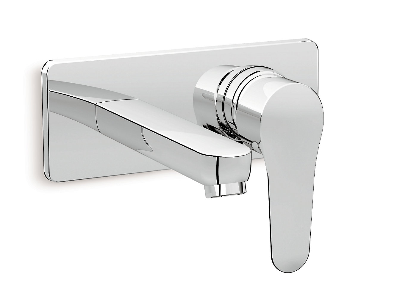 July Wall-mount lavatory faucet trim in polished chrome | K-5680IN ...