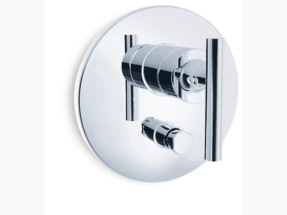 Purist Recessed Bath And Shower Faucet Trim With Lever