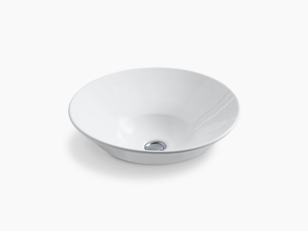 Conical Vessel Lavatory Without Faucet Hole K 2200in G