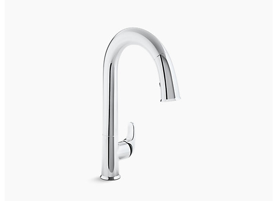 reviews pull down comllen in best kohler top faucets simplice kitchen faucet
