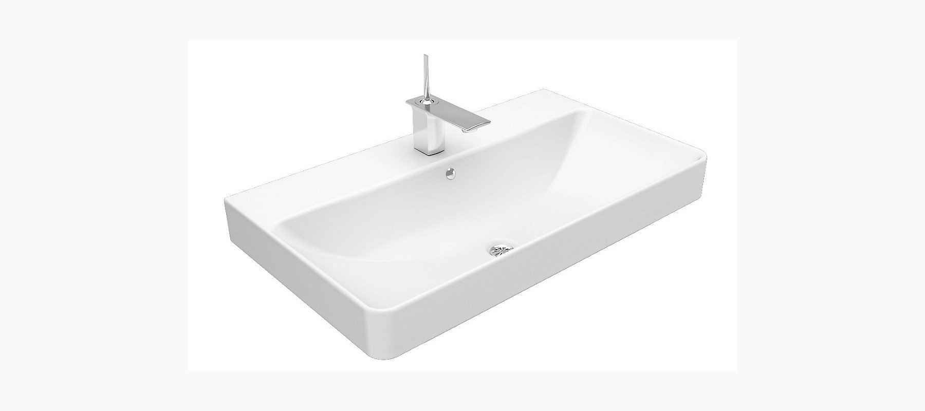 Forefront Vanity Top With Single Faucet Hole K 2749t 1 Kohler