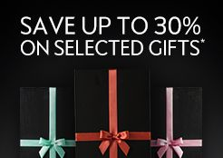 Black Friday - Save up to 30%* on selected gifts