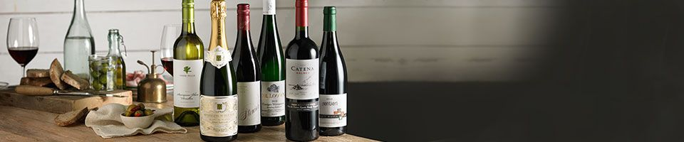 A Selection of wines available on Waitrose Cellar