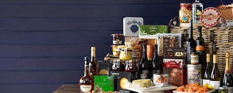 One of the Waitrose Gifts hampers