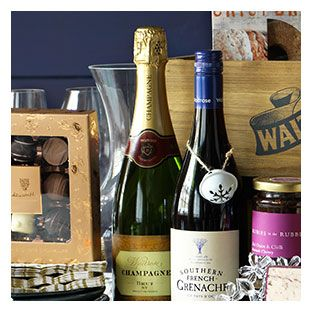 A Christmas hamper from Waitrose