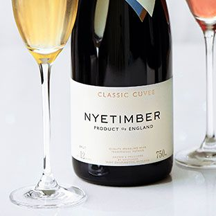Bottles of Nyetimber classic Cuvee