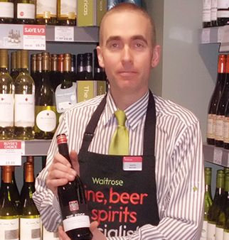 Martin Hynes, Waitrose instore wine specialist