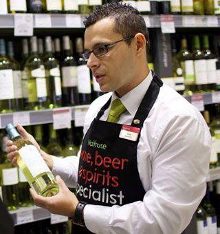 Nicolae Donciu, Waitrose instore wine specialis