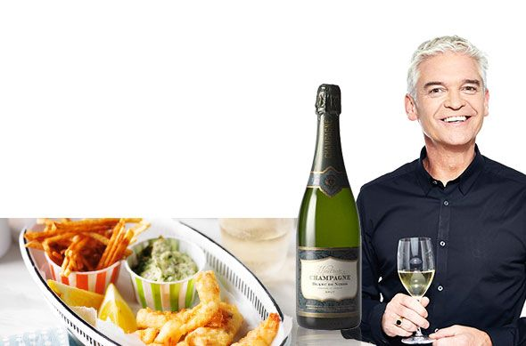 Fish and chip wine pairing