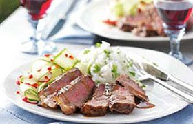 Asian Steak with Malbec