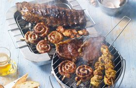 BBQ Selection with Casillero Cabernet