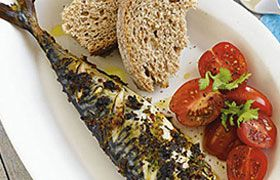 Grilled Mackerel with Alta Italia Chardonnay