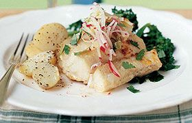 marinated Monkfish with Perrier Jouet Grand Brut