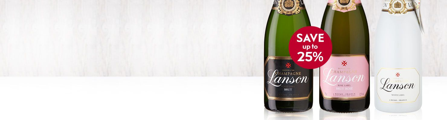 Lanson Wine Bottles
