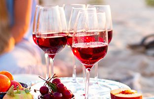 Lighten up this Summer with a chilled red