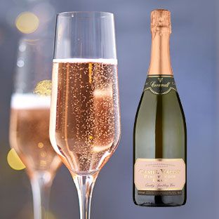 Our hottest tip to try, rose sparkling wine.