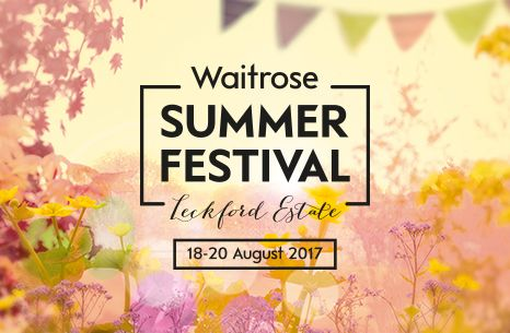 A delicious day of food and fun at Waitrose Farm