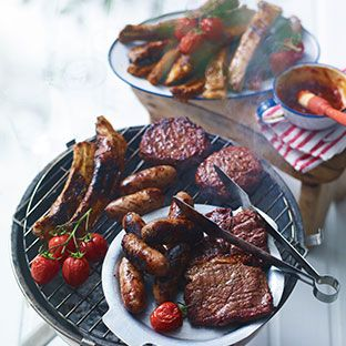 BBQ Food and wines from Waitrose Cellar