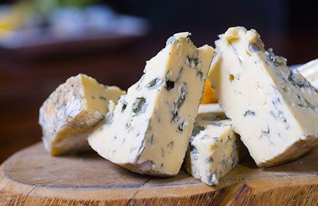 Blue Cheese on a wrapping