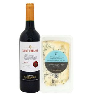 Wine and Cheese paired together