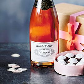 Pink Champagne and Truffles