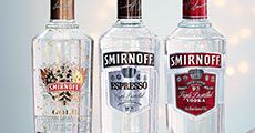 A Selection of vodka