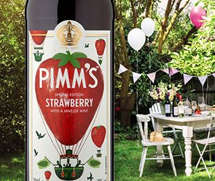 Pimms Strawberry