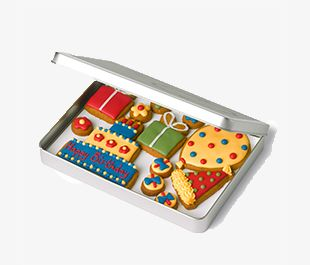 Gingerbread tins