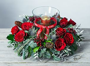 Christmas centrepieces