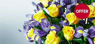 Waitrose Rose & Iris Bouquet