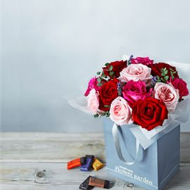 Waitrose Florist flowers and chocolates