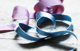 Ribbon on a table