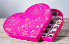 Prestat Heart Chocolate Box