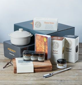 A Paxton & Whitfield hamper