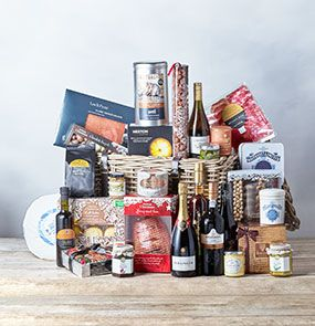 A Christmas hamper from Waitrose Gifts