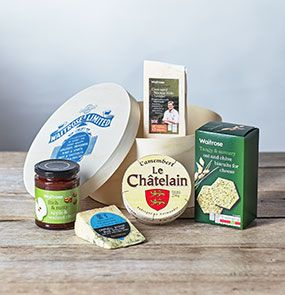 A deli hamper from Waitrose Gifts