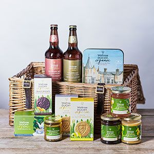 A Waitrose hamper